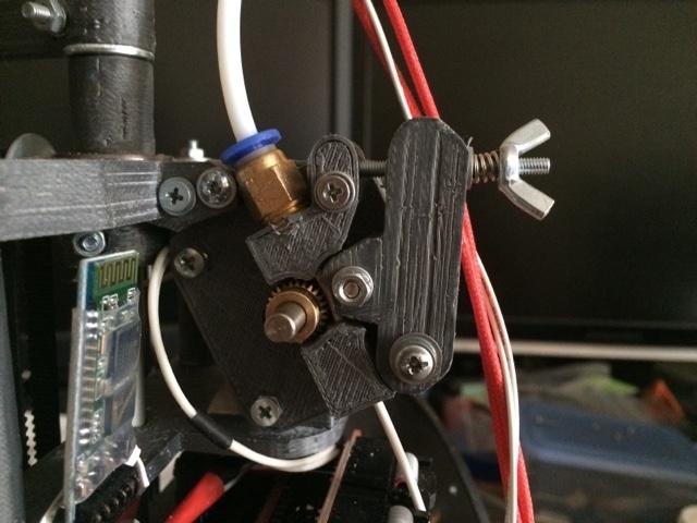 Самодельный принтер на SCARA механике - 4