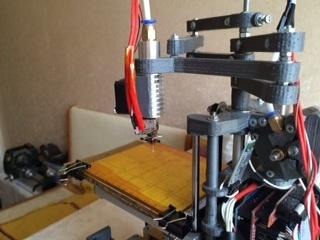 Самодельный принтер на SCARA механике - 6