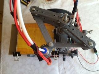 Самодельный принтер на SCARA механике - 7