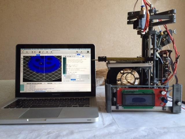 Самодельный принтер на SCARA механике - 8
