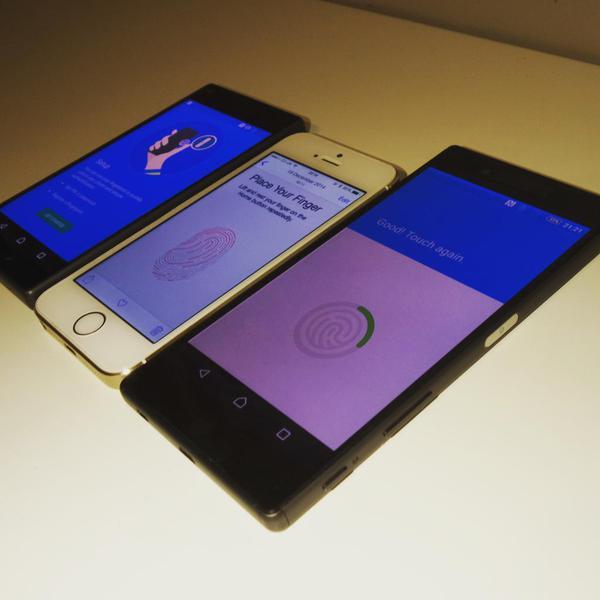 Смартфоны Sony Xperia Z5 и Z5 Compact могут получить дактилоскопы