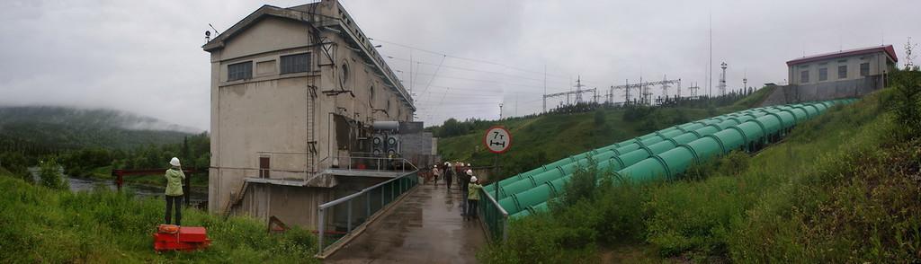 ГЭС изнутри - 26