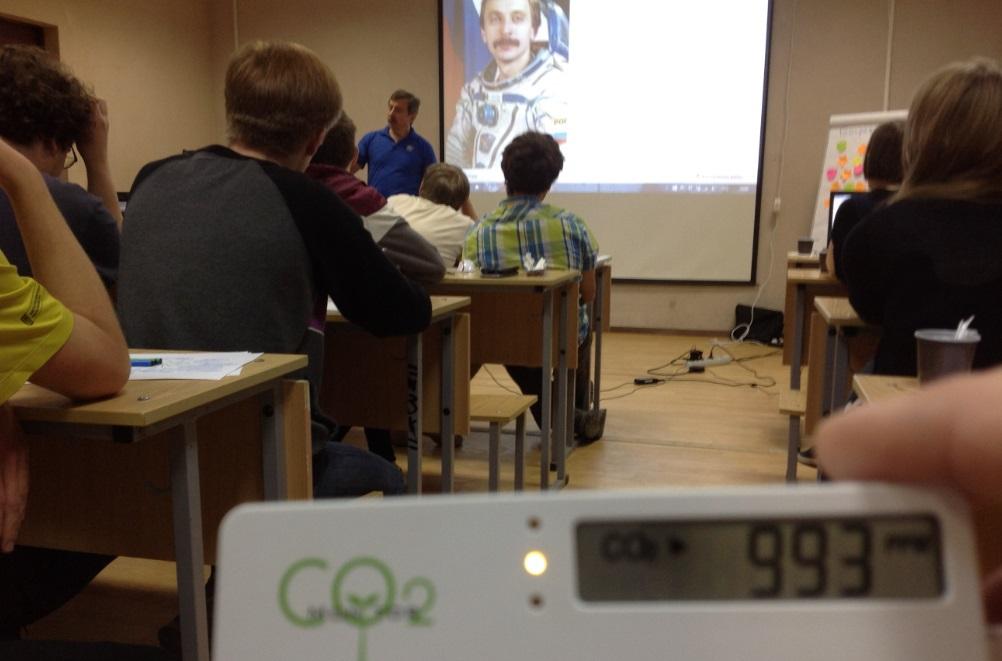 Тестирование СО2 детектора. Измерение когнитивной атмосферы в цеху 3d-принтеров, в космолагере, в коворкинге, в хакспейсе - 10
