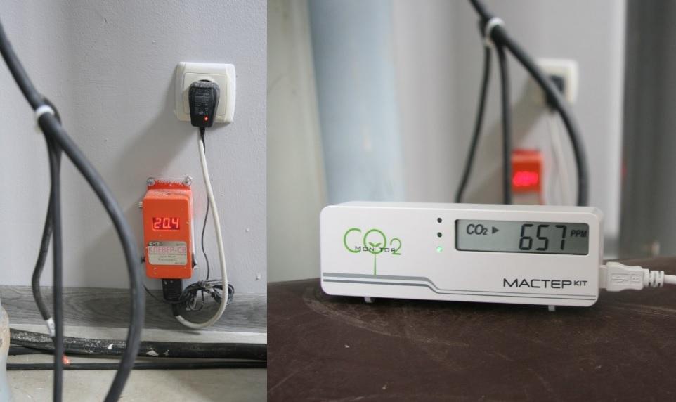 Тестирование СО2 детектора. Измерение когнитивной атмосферы в цеху 3d-принтеров, в космолагере, в коворкинге, в хакспейсе - 7