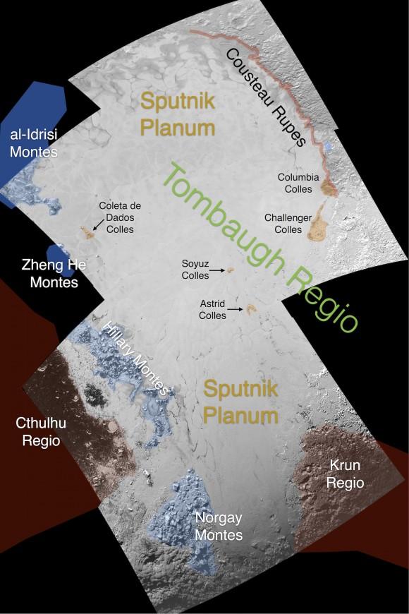 NASA выложило первые карты Плутона и Харона - 2