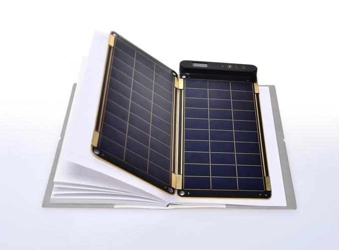 Solar Paper: универсальная «солнечная» зарядная станция - 2