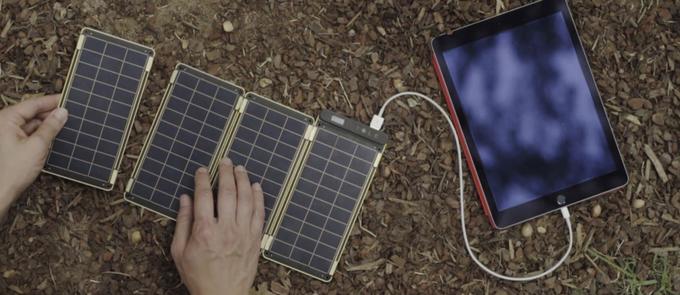 Solar Paper: универсальная «солнечная» зарядная станция - 6