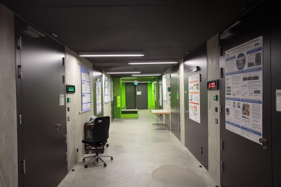 Самые тихие помещения в мире: лаборатории IBM в Цюрихе - 1