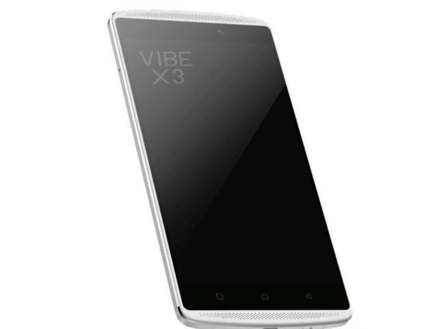Смартфон Lenovo Vibe X3 получит сканер отпечатков пальцев