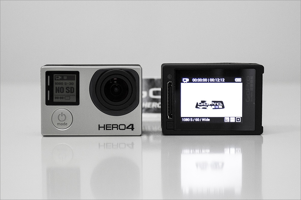 Два оттенка GoPro HERO4: Silver vs. Black - 4