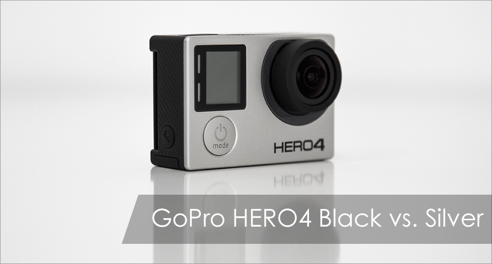 Два оттенка GoPro HERO4: Silver vs. Black - 1