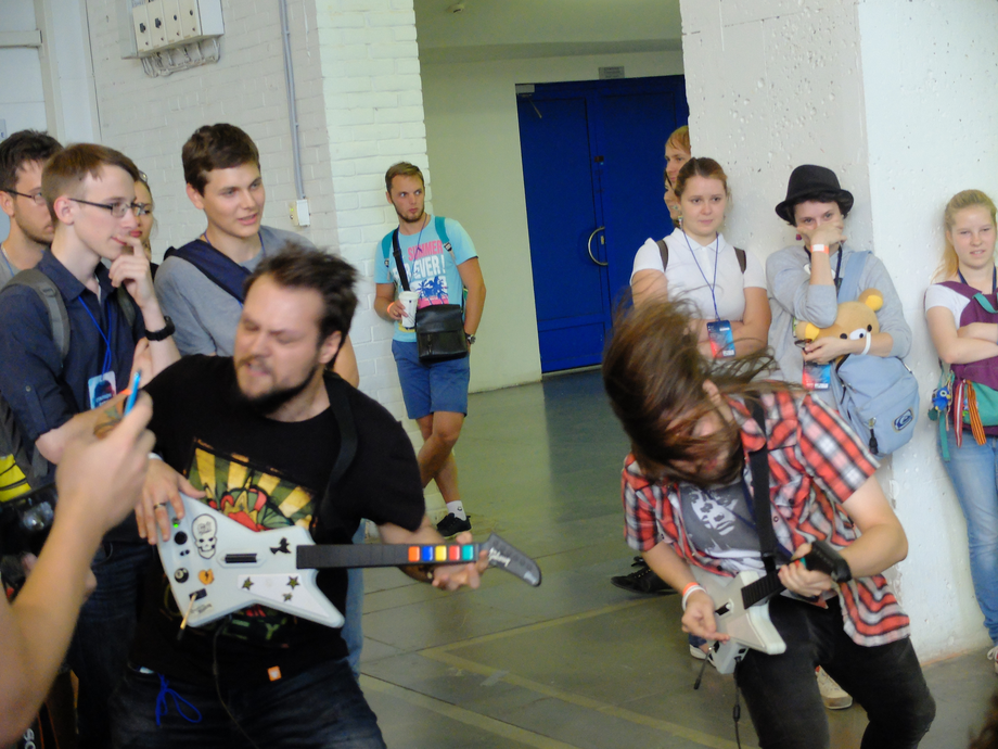 Фотоотчет ретро-зоны NextCastle Party на Старкон 2015 - 2