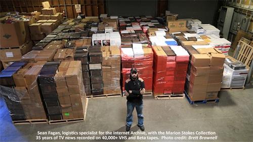 Интернет-архив планирует оцифровать 40 тысяч видеокассет - 1