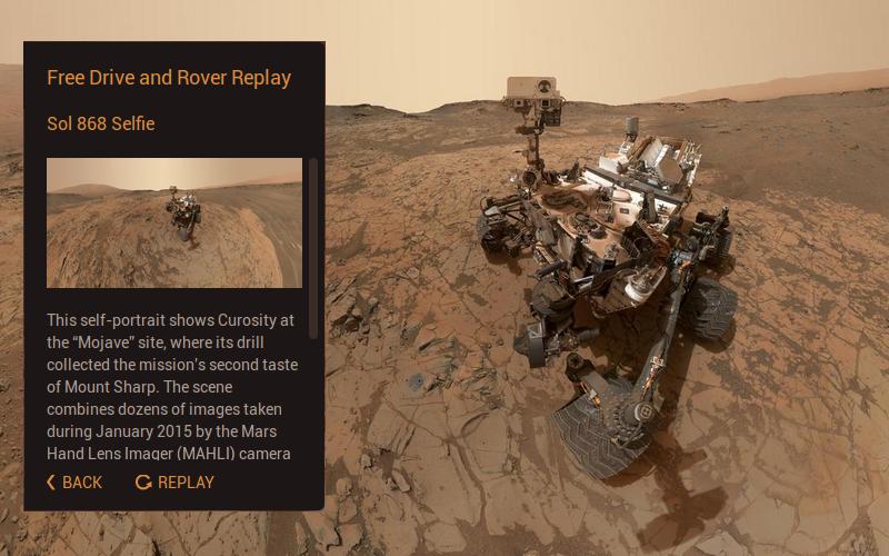 Интернет в 3D: управляем марсоходом Curiosity на сайте NASA - 2
