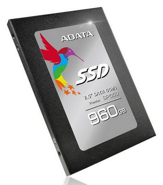 Твердотельные накопители Adata Premier SP550 основаны на памяти TLC NAND