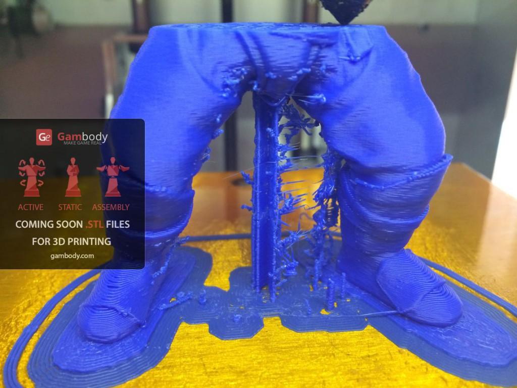 3D принтер VS Axe (Dota2) Ч.2 - 17
