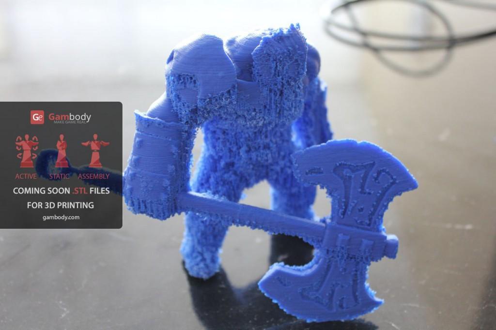 3D принтер VS Axe (Dota2) Ч.2 - 30