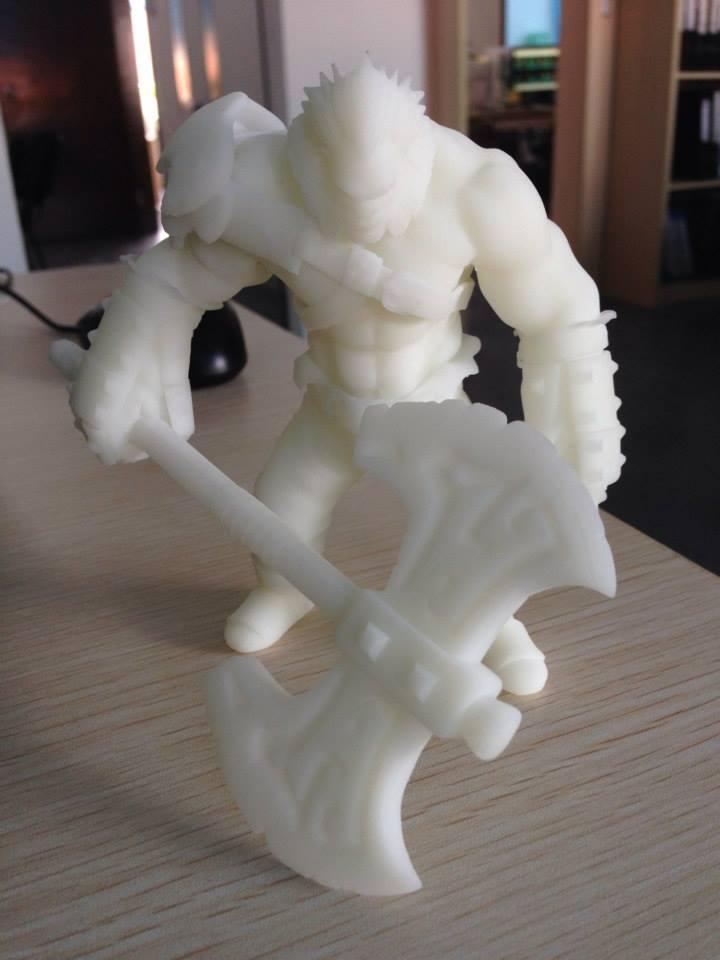 3D принтер VS Axe (Dota2) Ч.2 - 39