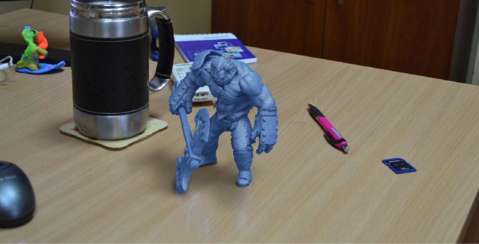 3D принтер VS Axe (Dota2) Ч.2 - 1
