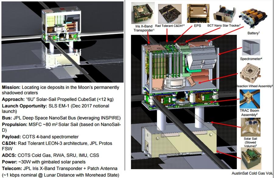 NASA готовит рой микроспутников к Луне - 5