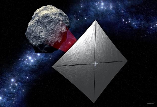 NASA готовит рой микроспутников к Луне - 9