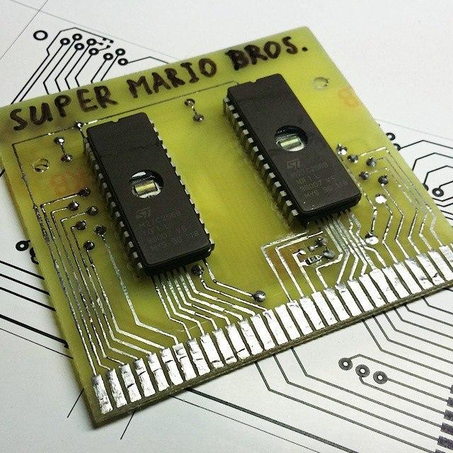 Самодельные картриджи для Dendy-Famicom - 2