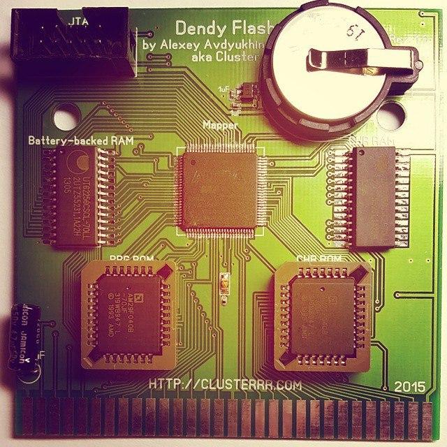 Самодельные картриджи для Dendy-Famicom - 6