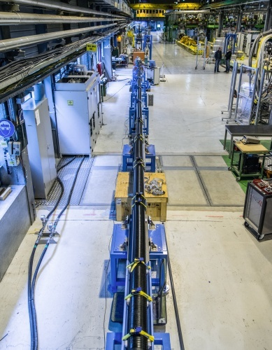 Учёные ЦЕРН готовят «силовое поле» для защиты космонавтов от излучения - 1