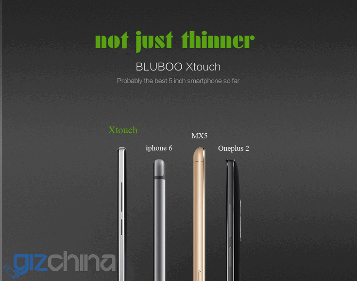 Смартфон Bluboo Xtouch получит сапфировое стекло