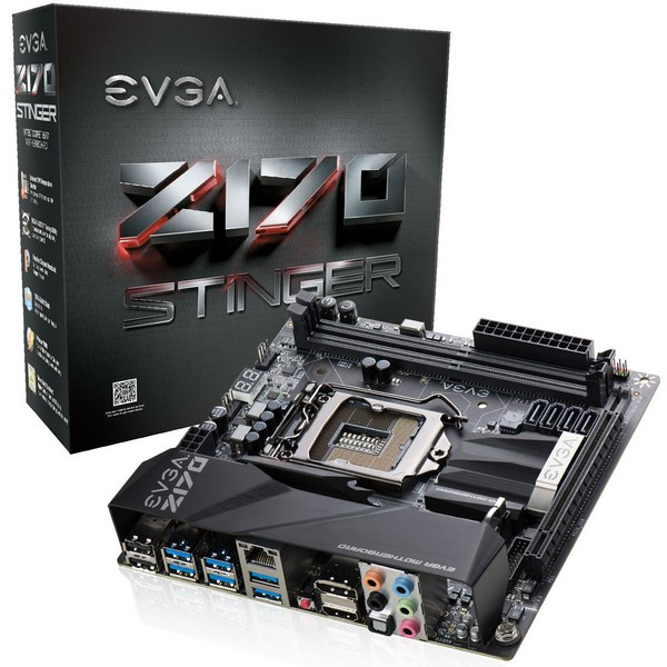 EVGA представила платы Z170 Stinger, Z170 FTW и Z170 Classified 4-Way