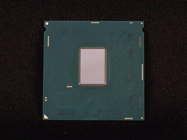 Кристалл процессора Intel Core i7-6700K меньше, чем у предшественников