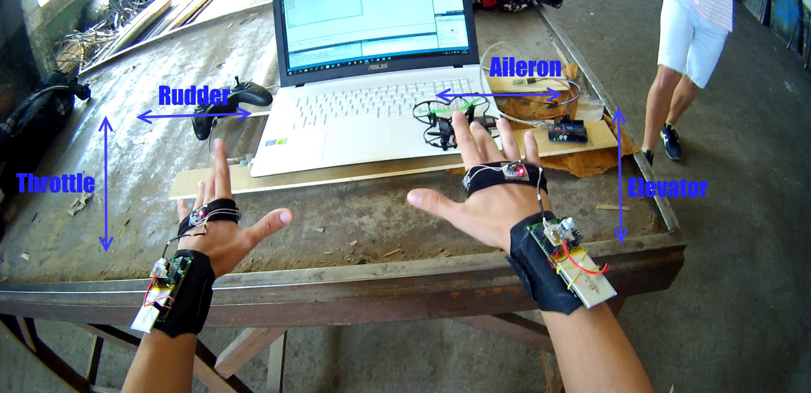 Gestus — контроль радиоуправляемых моделей с помощью жестов - 5