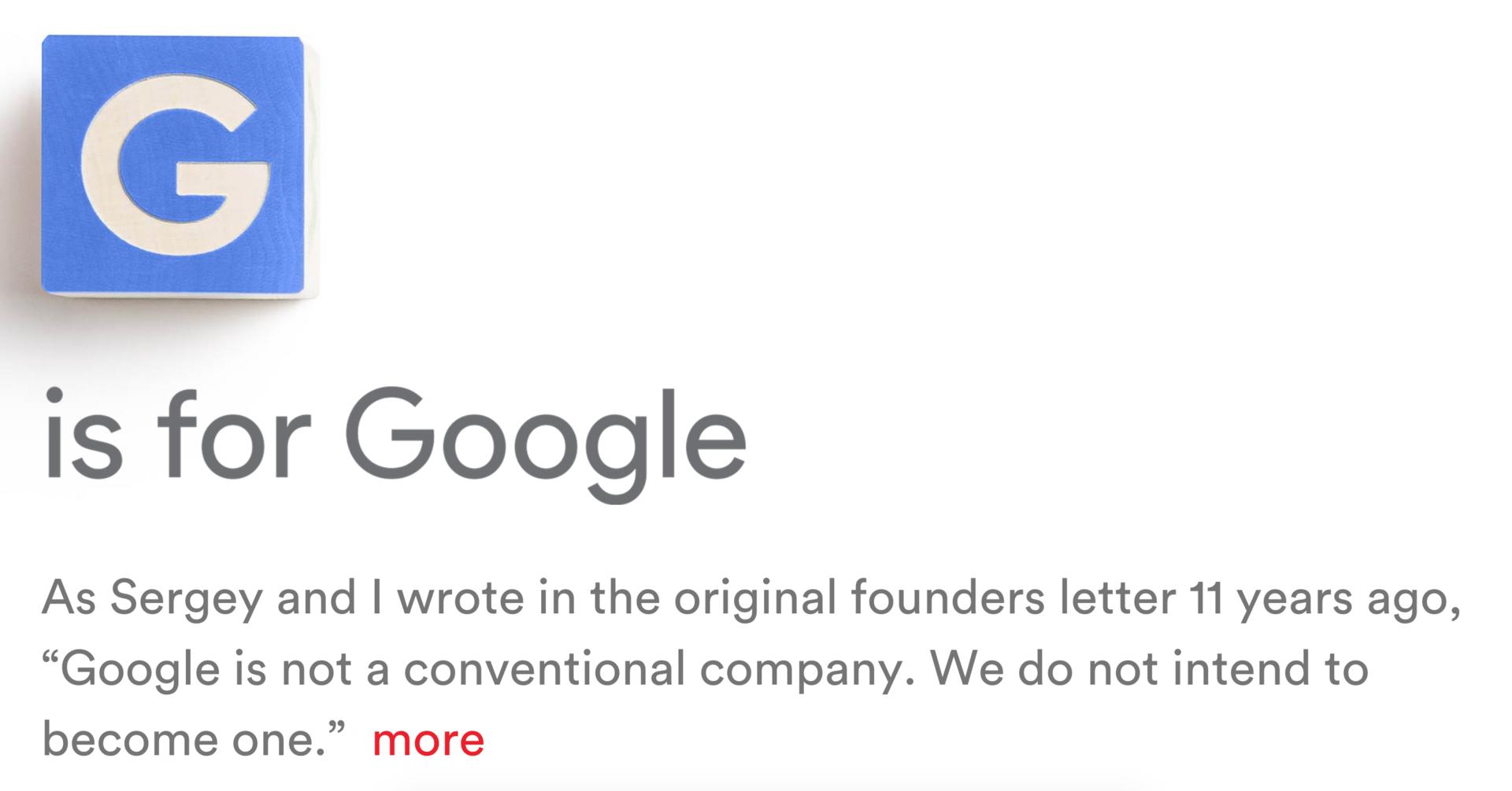 Google станет частью нового холдинга Alphabet - 1