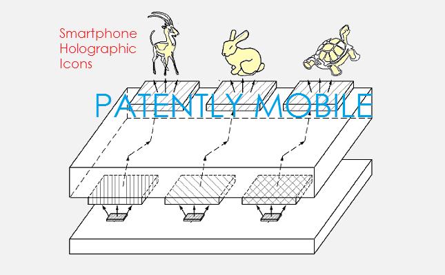 Один из патентов Samsung описывает технологию отображения голографических изображений