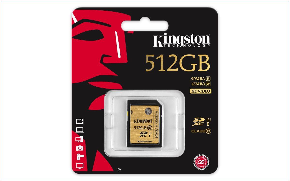 [Анонс] Kingston пополняет линейку карт памяти UHS-I SDHC-SDXC моделью ёмкостью 512 гигабайт - 2
