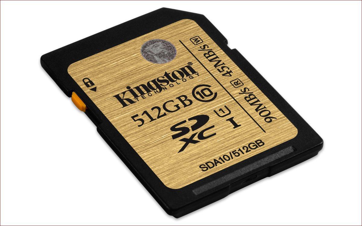 [Анонс] Kingston пополняет линейку карт памяти UHS-I SDHC-SDXC моделью ёмкостью 512 гигабайт - 3