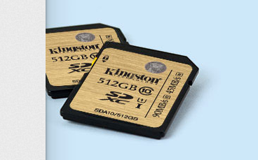 Kingston представила карты Class 10 UHS-I SDXC объёмом 512 ГБ