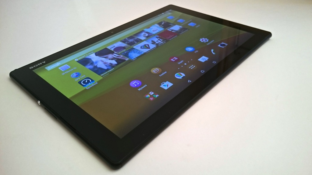 Обзор Xperia Z4 Tablet - 2