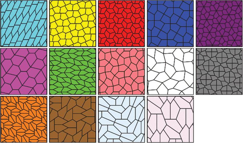 Открыт новый вид пятиугольников, покрывающих плоскость - 2