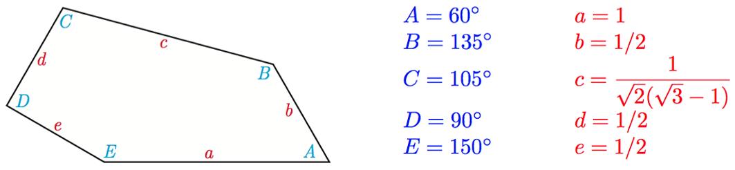 Открыт новый вид пятиугольников, покрывающих плоскость - 3