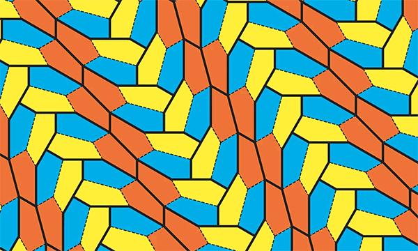 Открыт новый вид пятиугольников, покрывающих плоскость - 1