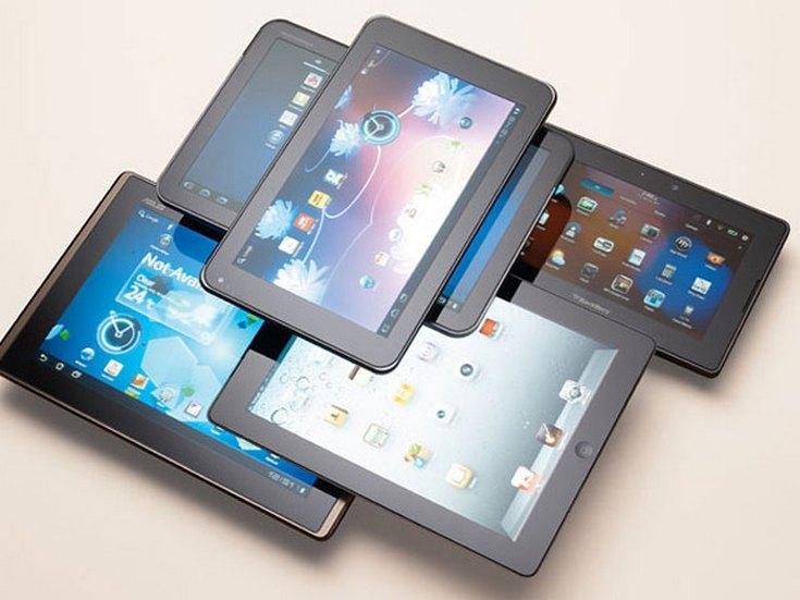 Рынок планшетов продолжает падать