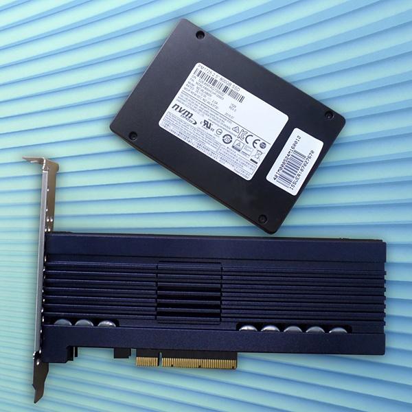 Samsung PM1633 и PM1725