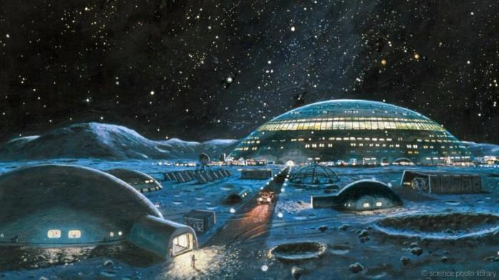Проект строительства международной лунной деревни - 1