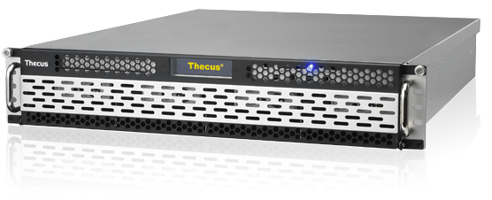 NAS Thecus N8900PRO поддерживает создание массивов RAID 0, 1, 5, 6, 10, 50, 60 и JBOD