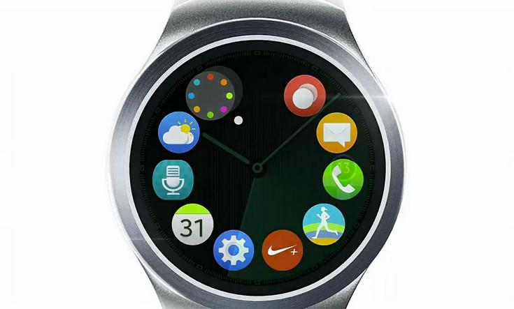 Часы Samsung Gear S2 выглядят достаточно необычно для компании