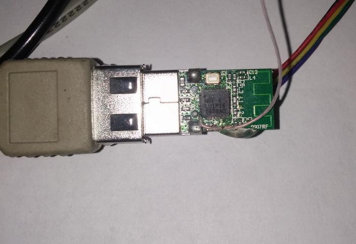 Работаем с USB стеком nRF24LU1+. Часть 1 - 2