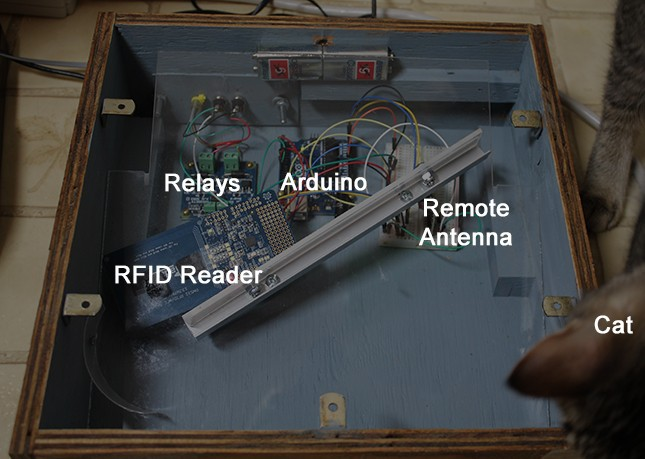 Arduino-кормилка для кошки с охотничьим инстинктом - 2