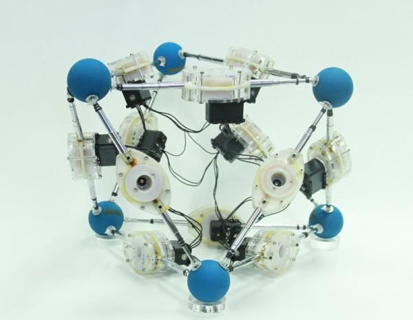 OctaWorm: шагающий робот-октаэдр - 1