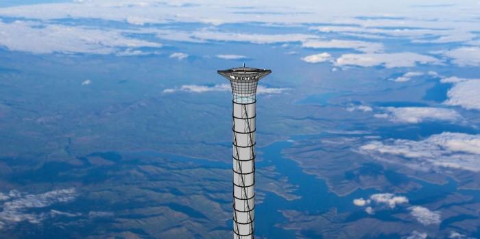 Канадская компания запатентовала космический лифт - 1